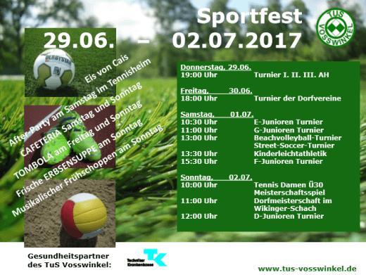 sportfestplakat