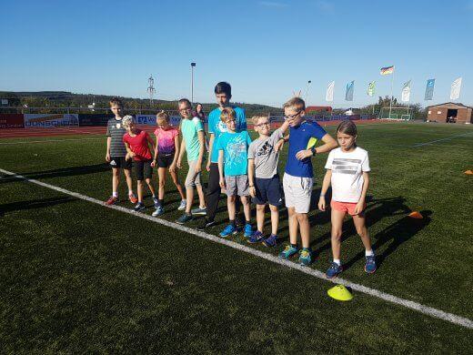 800m-Lauf - Sportabzeichen 2019