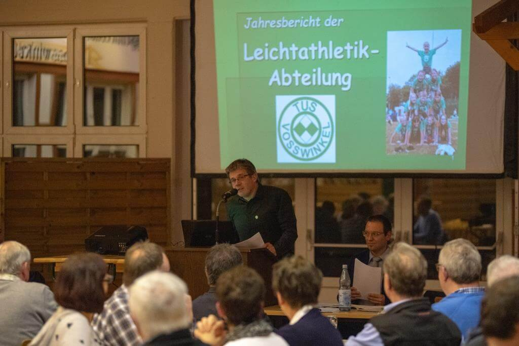 Mark Weber berichtet über die Aktivitäten und Erfolge der Leichathleten.